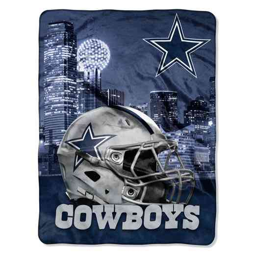 1NFL071030009RET: NW NFL HERITAGE SILK THROW, COWBOYS